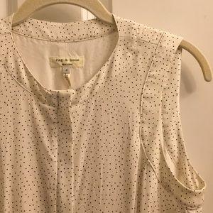 White Polka Dot Rag & Bone Mini Dress